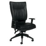 Global Industries HIGH BACK CHAIR BLACK 516147BK