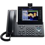 Cisco Unified IP Phone 9971 Standard - IP video phone - IEEE 802.11b/g/a (Wi-Fi) - SIP, RTCP, SRTP - multiline - charcoal gray CP-9971-C-K9=