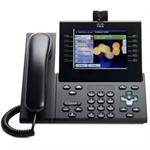 Cisco Unified IP Phone 9971 Slimline - IP video phone - IEEE 802.11b/g/a (Wi-Fi) - SIP - multiline - charcoal gray CP-9971-CL-K9=