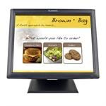"PT1745R - LCD monitor - 17"" ( 17"" viewable ) - touchscreen - 1280 x 1024 - 200 cd/m2 - 1000:1 - 5 ms - VGA - speakers - black"