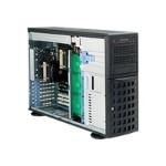 Supermicro SC745 TQ-R1200B - Tower - 4U - extended ATX - SATA/SAS - hot-swap 1200 Watt - black - USB