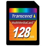 Flash memory card - 128 MB - MMC