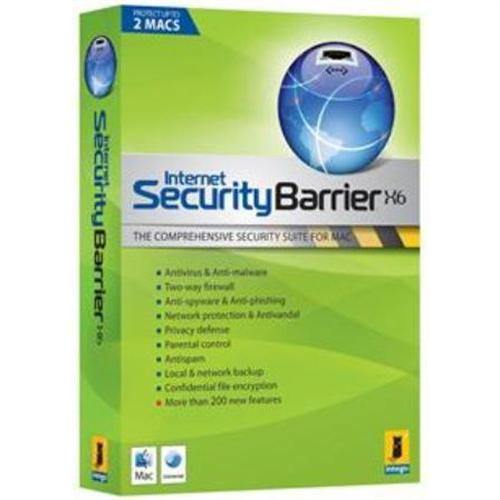 Intego Internet Security Barrier X6 - 2 seats licenses - 1 year protection included