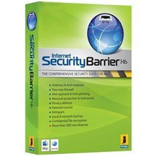 Intego Internet Security Barrier X6 Upgrade - from 500 to 999 seats licenses - 1 year protection included