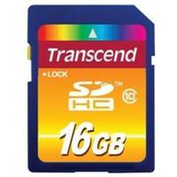 Transcend 16GB SDHC Card - Class 10
