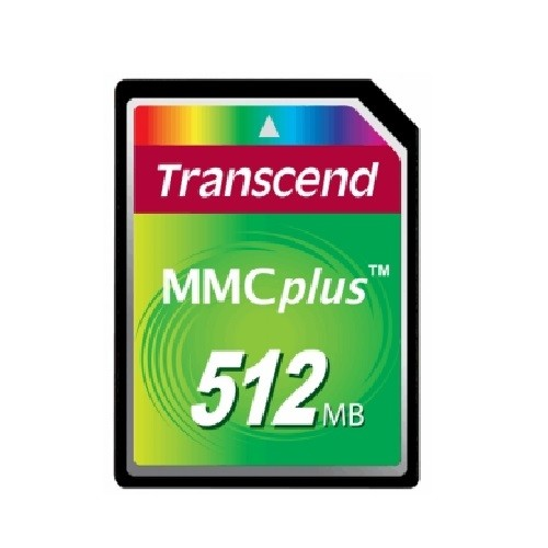 Transcend Flash memory card - 512 MB - MMCplus