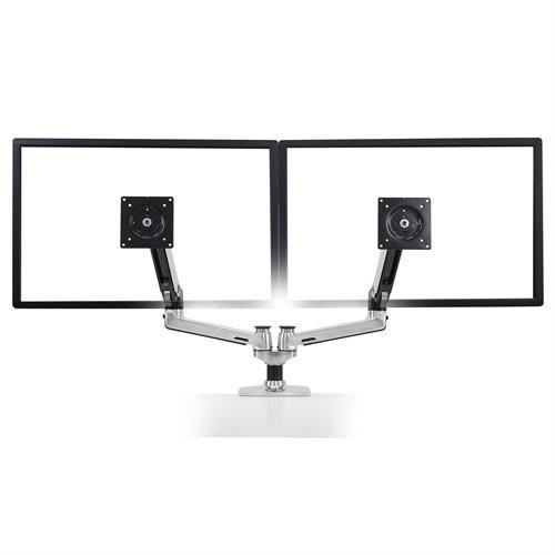 how to change sides of dual monitor