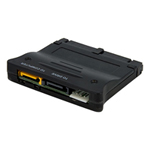 Bi-Directional SATA IDE Adapter Converter - Storage controller - 1 Channel - SATA 1.5Gb/s - 1.5 Gbit/s - Ultra ATA/133 - black