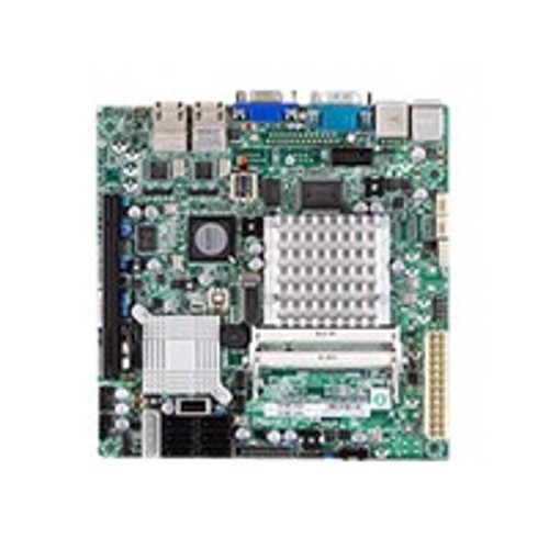 Super Micro SUPERMICRO X7SPA-HF - motherboard - mini ITX - Intel Atom D510