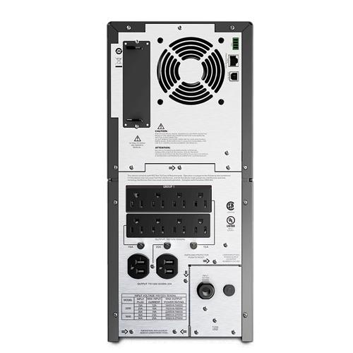 APC by Schneider Electric Smart-UPS 2200 LCD - UPS - AC 120 V - 1 98 kW -  2200 VA - RS-232, USB - output connectors: 10 - black (SMT2200)