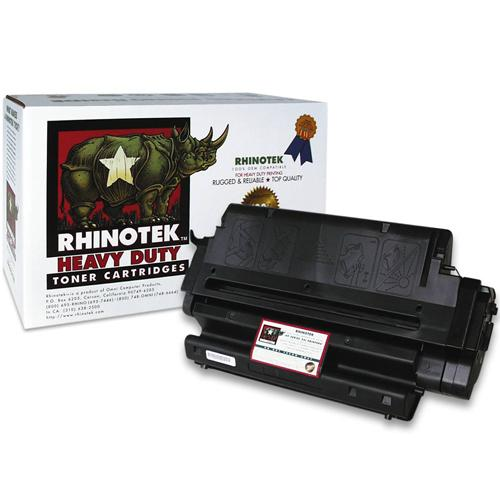 Rhinotek black - toner cartridge ( equivalent to: HP CE255X )