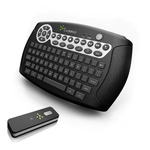 Satechi Cideko Air Keyboard Wireless Media Keyboard & Gyro Mouse for HTPC, PC, Mac & PS3
