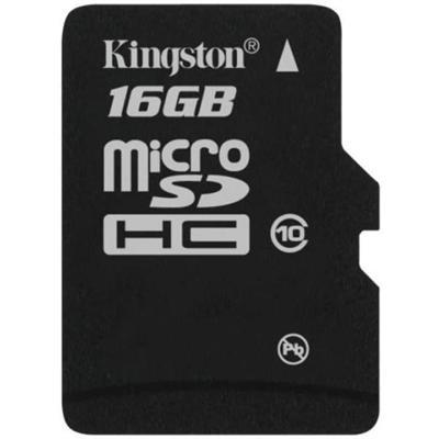 Kingston Digitalflash memory card - 16 GB - microSDHC(SDC10/16GB)