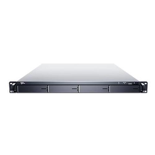 Sans Digital EliteRAID ER104I+B - 1U 4 Bay SATA to iSCSI 2x GbE RAID 60 Rackmount (Black)