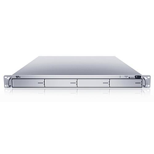 Sans Digital EliteSTOR ES104X+ - 1U 4 Bay Rackmount SATA to mini-SAS (SFF8088) JBOD Storage (Silver)