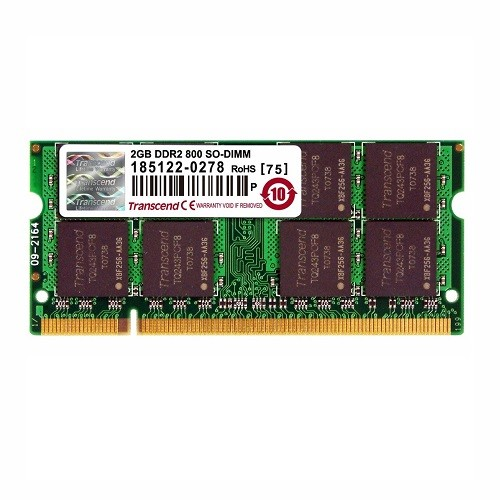 Transcend JetRAM memory - 2 GB - SO DIMM 200-pin - DDR2