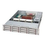 Supermicro SC826 E1-R800LPB - rack-mountable - 2U - extended ATX