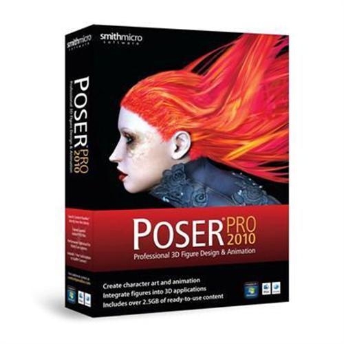 MacMall | SmithMicro Poser Pro 2010 - Box pack - 1 user - Win, Mac  PSRPRO2010HBX2
