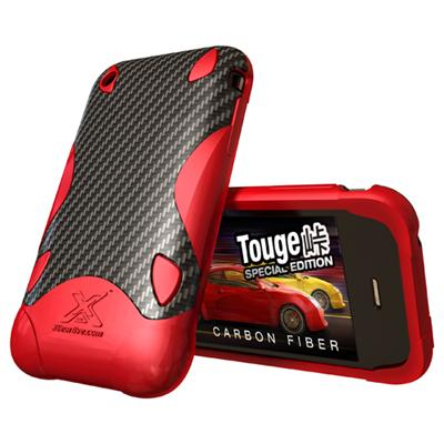 Xgearlive Touge Special Edition Case for iPhone 3G/3GS - Red (IP3-CBF32-RD)