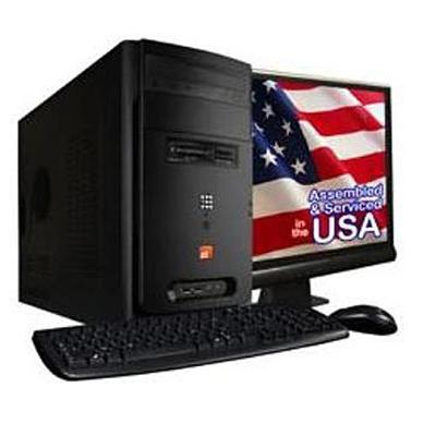 ZT SystemsElement 2108Li Intel Pentium Dual Core E6500 2.93GHz Desktop with 22