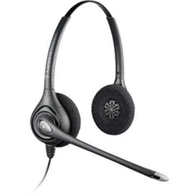 PlantronicsHW261N SupraPlus Wideband (Noise-canceling Binaural) Office Headset - Quick Disconnect(6433931)