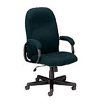 Global Industries HIGH BACK CHAIR PNEUMATIC HEIGHT ADJUST F8891BK