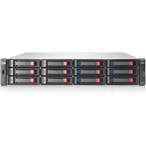 HP Smart Buy StorageWorks P2000 G3 FC/iSCSI Modular Smart Array with 6x 300GB 6G SAS 10K 2.5-inch Hard Drive Installed