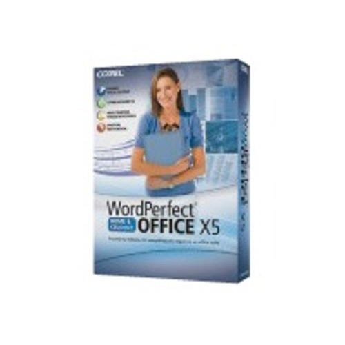 Corel WordPerfect Office X5 Home and Student Edition - complete package
