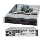 "Supermicro A+ Server 2022G-URF - Server - rack-mountable - 2U - 2-way - RAM 0 MB - SATA - hot-swap 3.5"" - no HDD - MGA G200 - GigE - monitor: none"