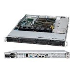 "Supermicro A+ Server 1022G-NTF - Server - rack-mountable - 1U - 2-way - RAM 0 MB - SATA - hot-swap 3.5"" - no HDD - DVD - Matrox G200 - GigE - monitor: none"