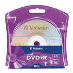 10 x DVD+R - 4.7 GB (120min) 16x - blister