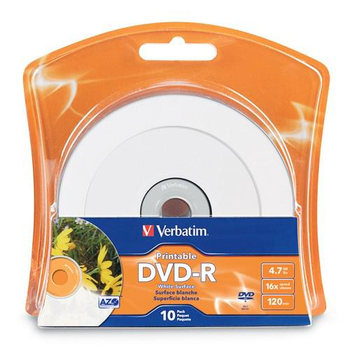 Verbatim Printable - DVD-R x 10 - 4.7 GB