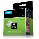 Dymo White 2-up Address Labels 30253