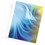BINDING COVERS-THERMAL-1/8 WHITE 10PK D