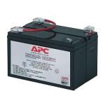 Replacement Battery Cartridge #3 - UPS battery lead acid - black - for Back-UPS 450, 600, 600C, 600VA, 650M, 650MI, 650VA; PowerCell Network