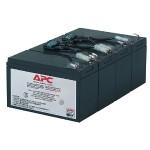 Replacement Battery Cartridge #8 - UPS battery lead acid - black - for P/N: SU1400RM, SU1400RMBX120, SU1400RMNET, SU1400RMX176