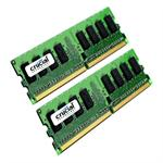 DDR2 - 16 GB: 2 x 8 GB - DIMM 240-pin - 667 MHz / PC2-5300 - CL5 - 1.8 V - registered - ECC - for SUPERMICRO X7DCA, X7DCL, X7DCT, X7DCU; Tyan Tempest i5100