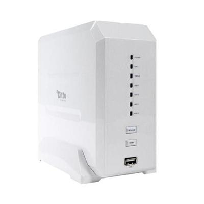 Dane-Elec 500GB myDitto 2-Bay Home Network Server (MD-H15001E23S)
