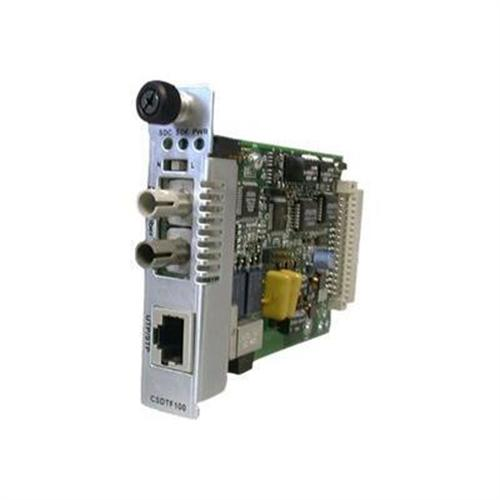 Transition Point System Slide-In-Module Media Converter - media converter