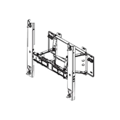 Samsung ElectronicsWMN-4270SD - Mounting kit ( angle brackets, 2 brackets ) for LCD display - screen size: 40
