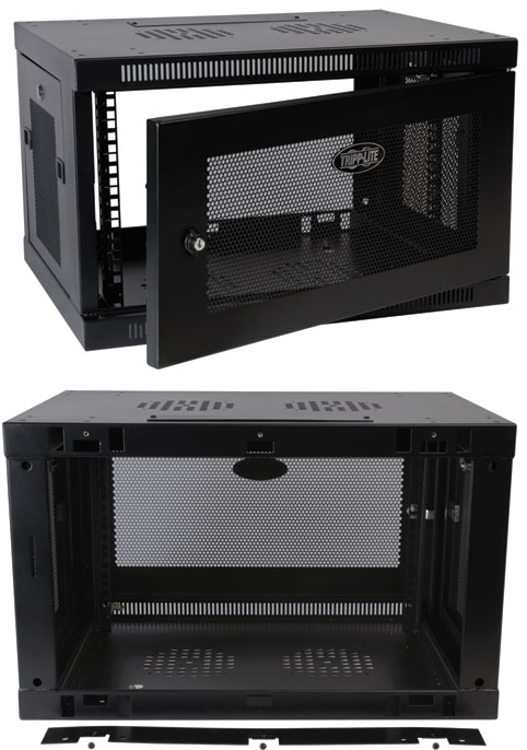 Overview - PCM TrippLite, 6U Wall Mount Rack Enclosure Server Cabinet W