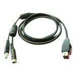 PoweredUSB cable - for Point of Sale System rp5800; RP3 Retail System; RP7 Retail System; RP9 G1 Retail System