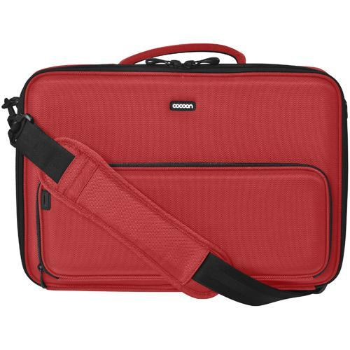"Cocoon Laptop Case with Grid-It! Organizer…accommodates up to 13"" Laptop - Racing Red"