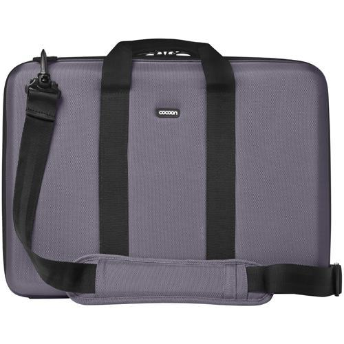 "Cocoon Laptop Case with Grid-It! Organizer…accommodates up to 17"" Laptop - Gun Gray"
