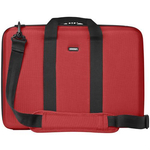 "Cocoon Laptop Case with Grid-It! Organizer…accommodates up to 17"" Laptop - Racing Red"