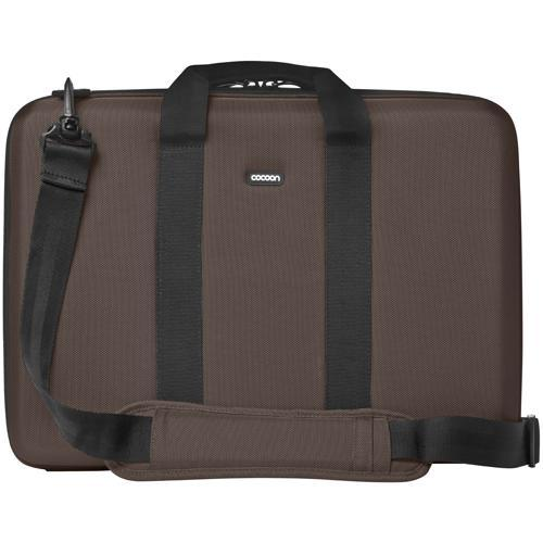 "Cocoon Laptop Case with Grid-It! Organizer…accommodates up to 17"" Laptop - Java Brown"