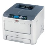 Oki C610dtn - Printer - color - Duplex - LED - Legal - 1200 x 600 dpi - up to 34 ppm (mono) / up to 32 ppm (color) - capacity: 930 sheets - USB, LAN 62433406