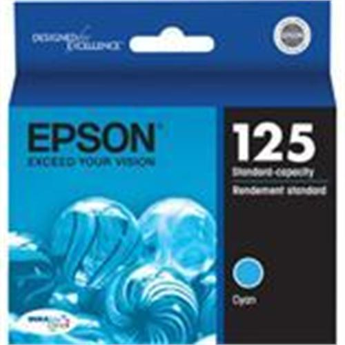 Epson 125 Multi-Pack - color (cyan, magenta, yellow) - original - ink cartridge