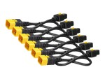 Power cable - IEC 60320 C19 to IEC 60320 C20 - AC 240 V - 16 A - 4 ft - latched - black - for P/N: SMX3000RMHV2UNC