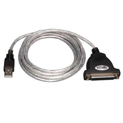 TrippLite USB to Parallel Printer Adapter Cable, 6ft (U207-006)